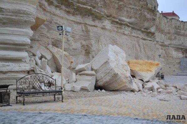 В Актау открыли Скальную тропу