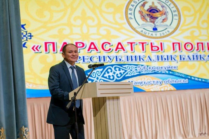 В Мангистау более 200 полицейских  Казахстана борются за победу в конкурсе «Парасатты полицей»