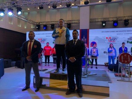 Пауэрлифтеры из Мангистау завоевали «золото» чемпионата Азии