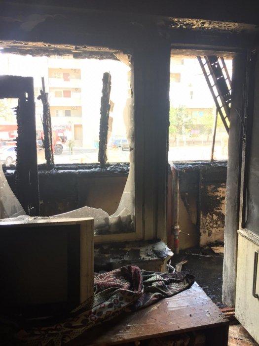 В 27 микрорайоне Актау произошёл пожар в жилом доме