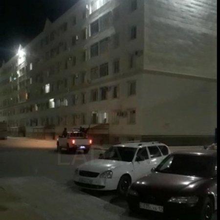 Беспредел сегодня ночью в 32А ЖК Шанырак ВИДЕО
