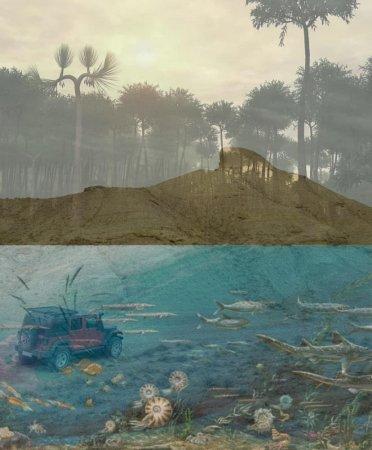 Степь Юрского периода: Удивительное место нашёл палеонтолог-любитель из Актау