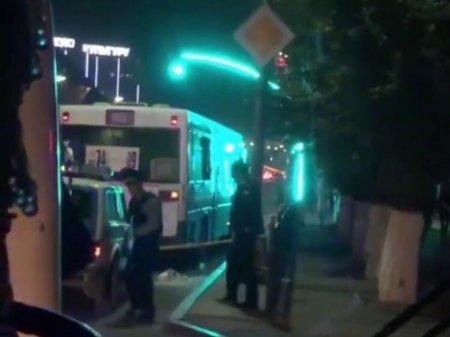 Пассажирские автобусы обстреляли в Караганде