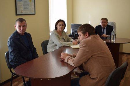 Ерлан Тургумбаев встретился с заключенными исправительного учреждения в Мангистау