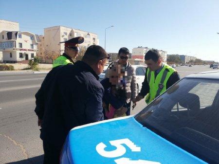 В Актау задержали подозреваемого в развратных действиях в отношении к малолетней