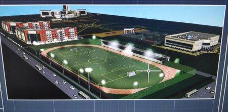 Построить спортивный стадион на три тысячи мест планируют в Актау