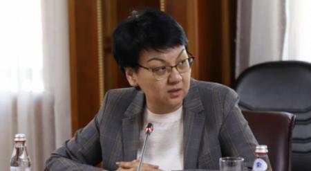 Фатима Жакыпова освобождена от должности