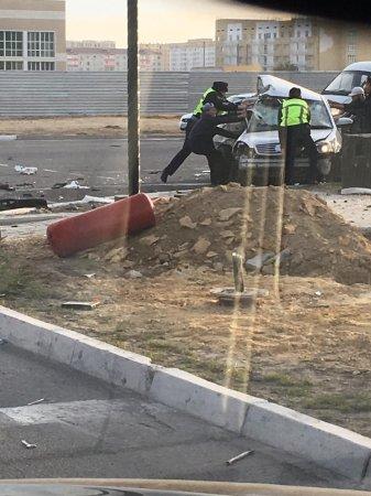 Мужчина погиб в результате аварии в Актау