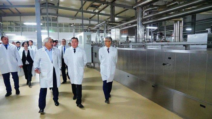 Что делал Премьер-Министр Казахстана Аскар Мамин в Актау