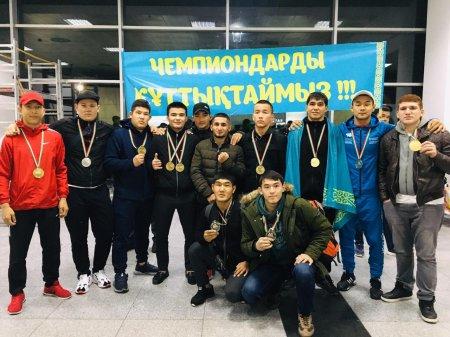 Мангистауские бойцы завоевали 11 медалей на чемпионате мира по панкратиону