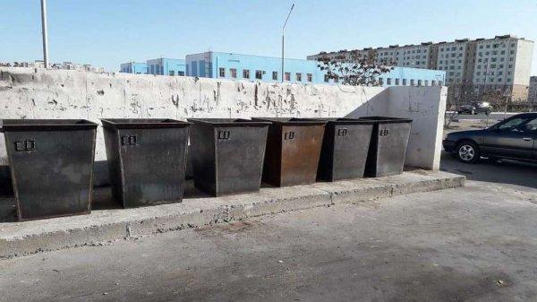 Новые мусорные контейнеры появились в Актау