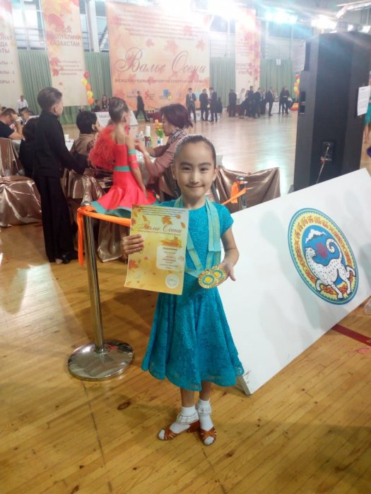 Танцоры из Актау завоевали золотые медали на международном турнире в Алматы