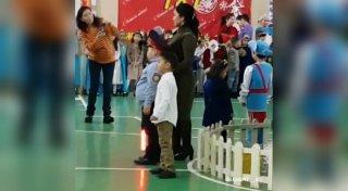 Мальчик в образе полицейского стал звездой Казнета