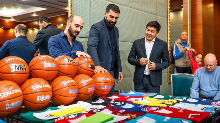 В Актау стартовал второй сезон юниорской Лиги Jr.NBA Kazakhstan