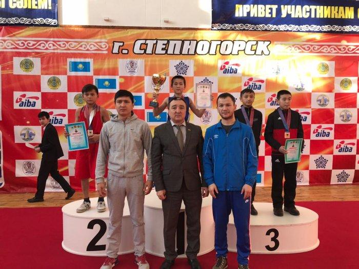 Боксеры из Мангистау завоевали две медали на республиканском турнире
