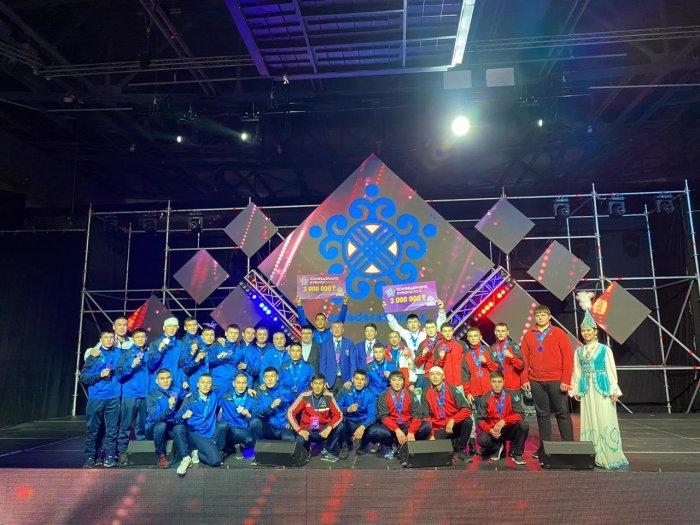 Сборная Мангистау стала бронзовым призёром Кубка КФБ
