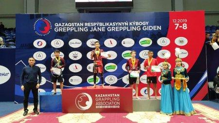 Мангистауские грэпплеры завоевали 34 медали на Кубке Республики Казахстан