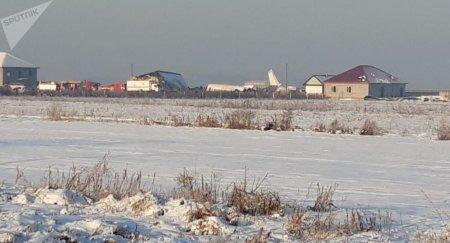 Крушение самолета близ Алматы: число жертв выросло до девяти