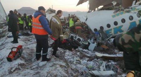 Названы предварительные причины падения самолета Bek Air