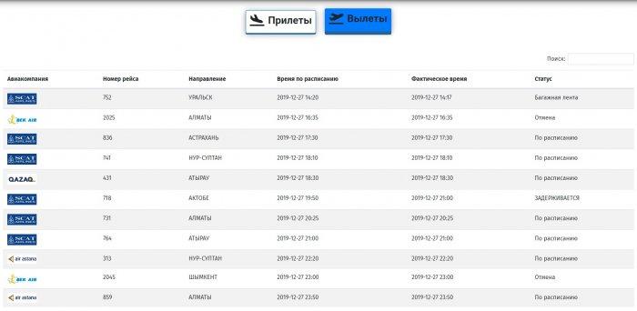 Деятельность Bek Air приостановлена: Вылеты из Актау и прилёты самолетов авиакомпании отменены