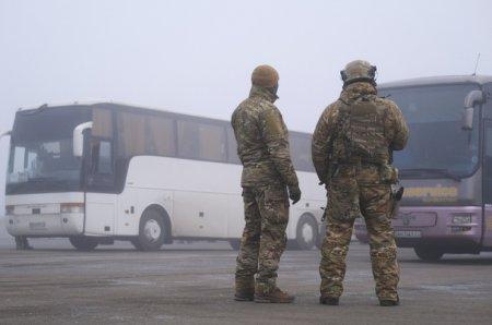 Под Горловкой начался большой обмен пленными