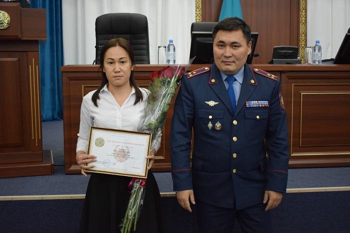 В Мангистау наградили лучших полицейских
