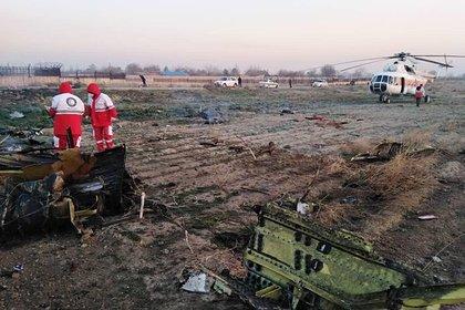 Названа причина крушения украинского самолета в Иране
