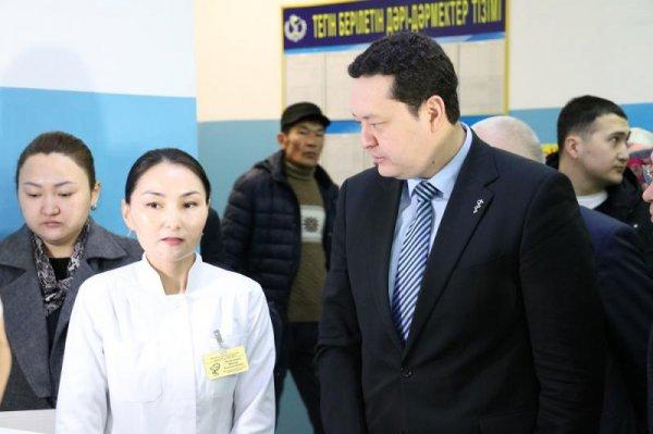 Вице-министр здравоохранения посетил Мангистау с проверкой
