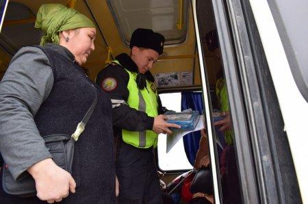 Более 160 нарушений совершили водители автобусов в Актау за один день