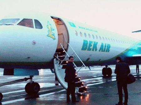 Перекидывали запчасти с самолетов: В работе Bek Air нашли массу нарушений