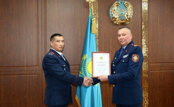 Полицейский из Мангистау признан лучшим дознавателем в Казахстане
