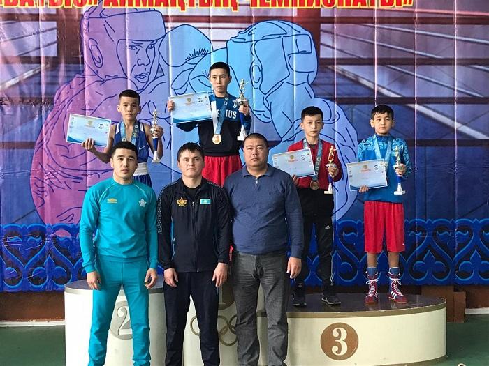 Юные боксёры из Мангистау завоевали 16 медалей на западном  зональном чемпионате Казахстана