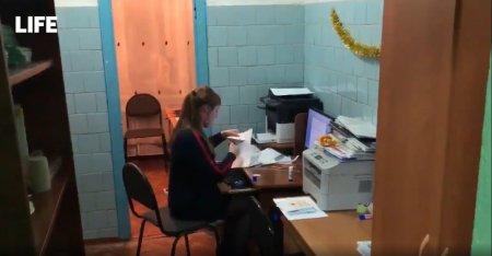 В одной из школ Красноярского края учительскую перенесли в туалет