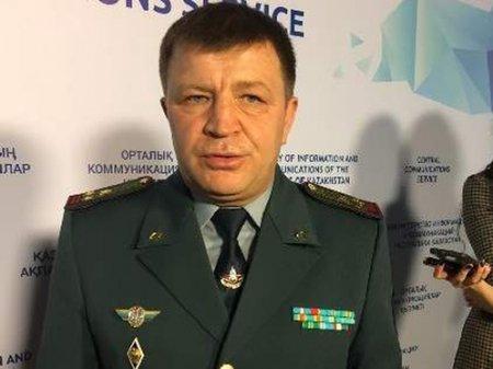 До конца марта заключен под арест подозреваемый в коррупции генерал Копбаев