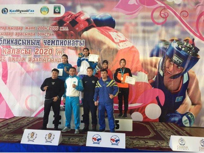 Спортсменка из Актау стала бронзовым призером чемпионата Казахстана по боксу
