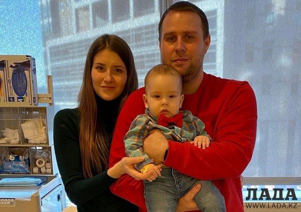 #СпастиДиму: Малыш из Актау получил заветный укол в США