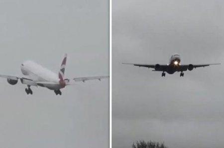 Самолет долетел из Нью-Йорка в Лондон за рекордное время из-за урагана