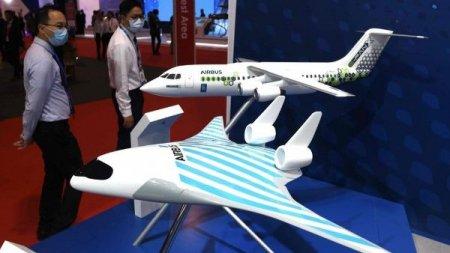 Airbus показал модель пассажирского лайнера будущего