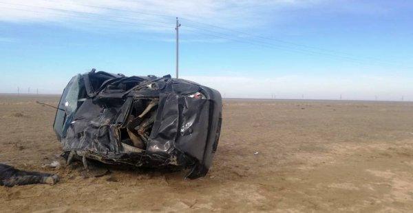 Два человека погибли в ДТП на трассе Актау-Каламкас