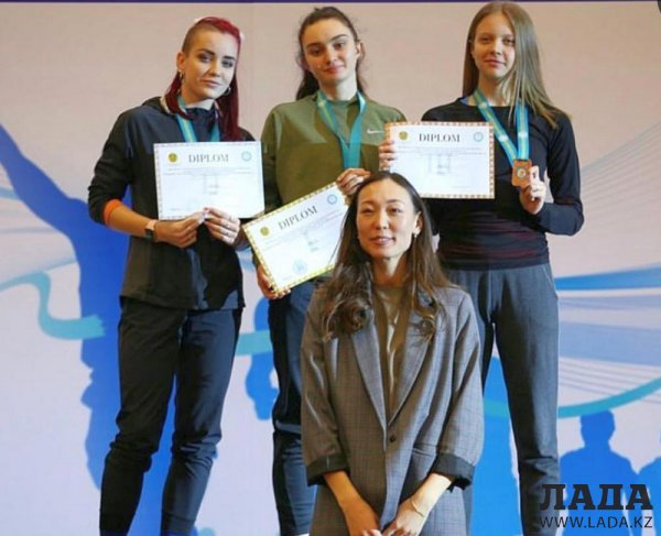 Школьница из Актау стала чемпионкой Казахстана  в толкании ядра