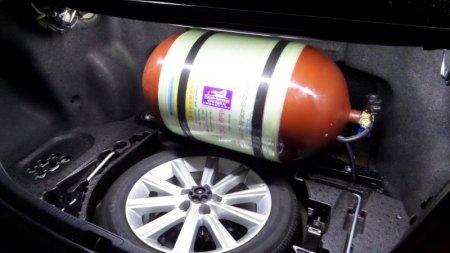 Какой знак могут обязать клеить на автомобили на газе