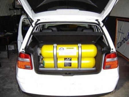 Владельцев авто на газе начнут штрафовать за въезд на закрытые паркинги в РК