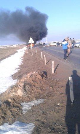 ДТП на трассе Батыр - Кызылтобе: погибли три человека