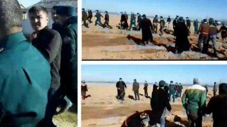 Граждане Узбекистана набросились с камнями и топорами на чиновников
