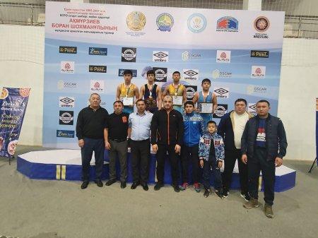 Команда из Мангистау заняла первое место на международном чемпионате по вольной борьбе