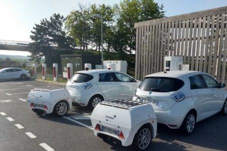 Французский стартап EP Tender разработал прицеп с аккумуляторами для увеличения запаса хода электромобилей