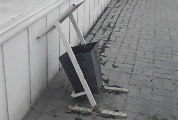 Вандализм в Актау остается безнаказанным