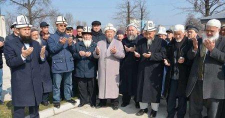 Обряд жертвоприношения против коронавируса совершили мусульмане Кыргызстана