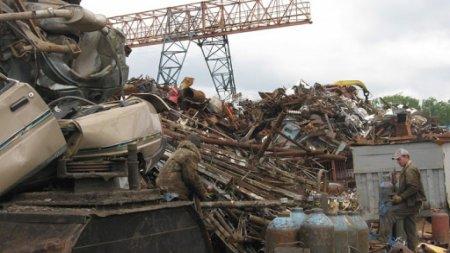 В капшагайском пункте приема металлолома произошел взрыв, есть погибший