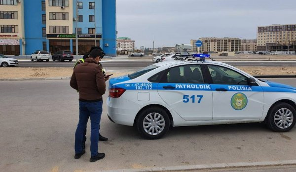 За четыре дня в Актау оштрафовали более 300 пешеходов